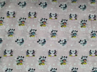 Tissu Minnie et Mickey Mouse