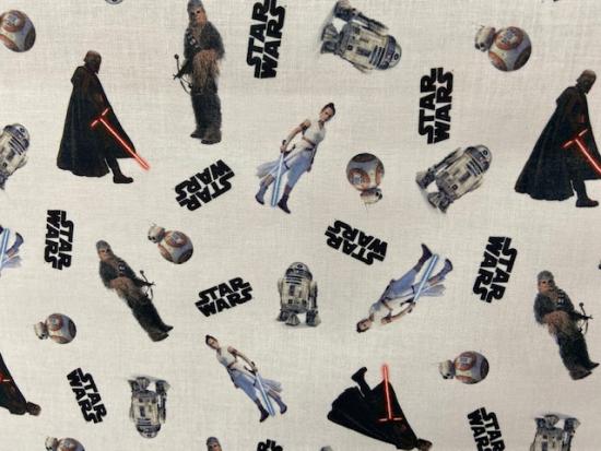 Tissu coton Star Wars Disney